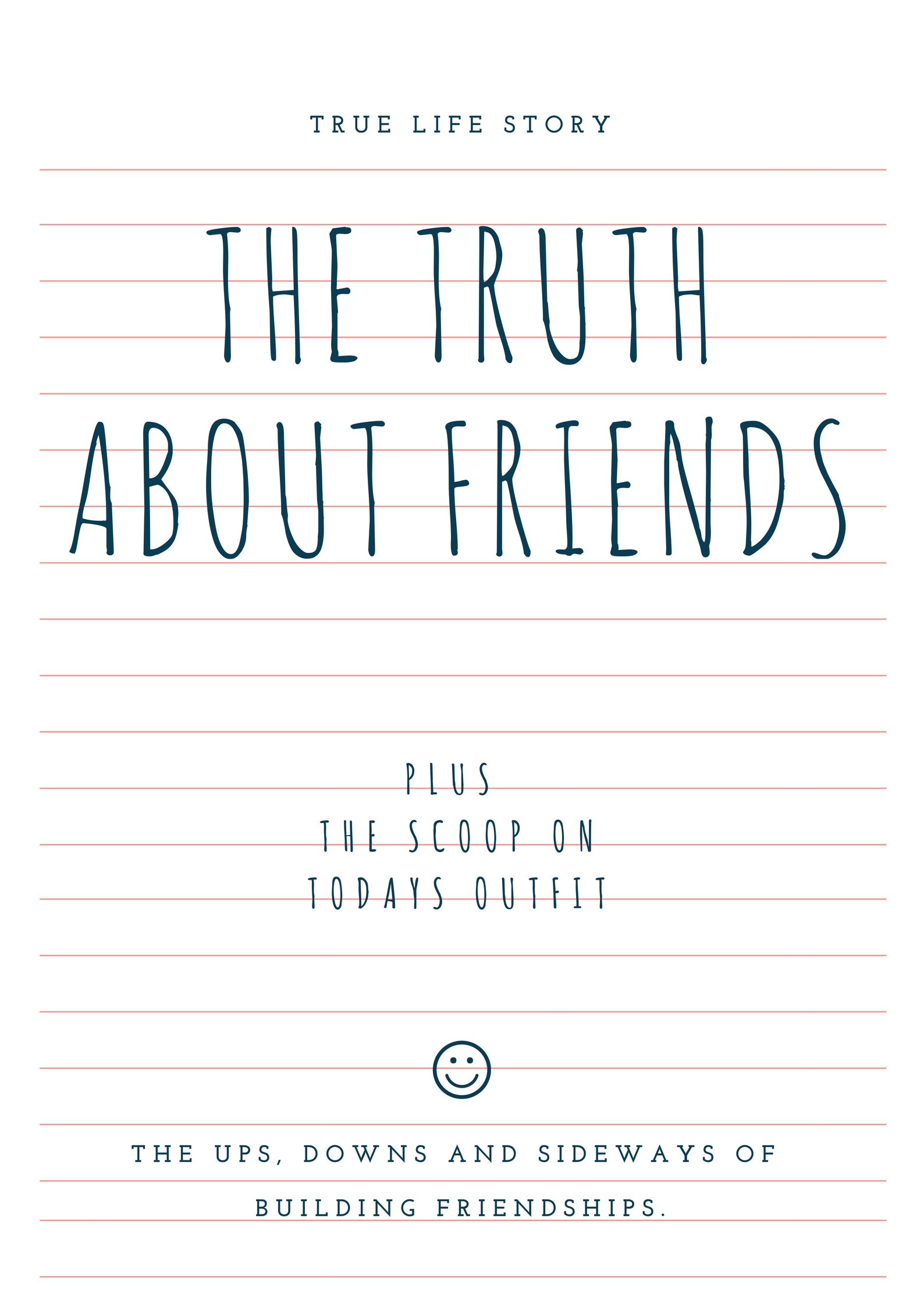 the truth about friends