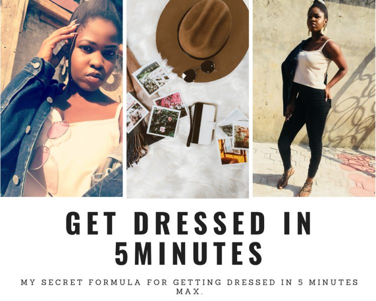 get dressed in five minutes