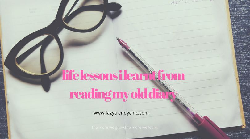 life lessons from old diary